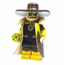 LEGO custom - - - YELLOW LANTERN SCARECROW - - - - batman superman dc