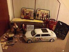 Bratz Forever Diamondz Limousine + Dolls With Box Rare HTF VGC Working Order