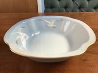 B & G Bing & Grondahl Denmark Vegetable Serving Bowl w/ Seagulls #43 Blue