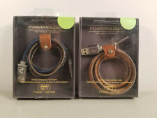 New Durable 3ft. Braided Charging / Sync Cable Type C by Powerology Colors