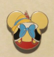DISNEY WDW DLR MICKEY MOUSE ICON MYSTERY PACK PINOCCHIO FEATHER HAT BLUE TIE PIN