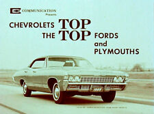 1968 Chevrolet Versus Ford and Plymouth - color Film CD MP4 Format