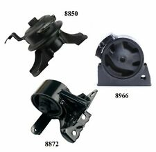 3 PCS FRONT MOTOR & TRANS MOUNT FIT 1998-2002 Fits Chevrolet Prizm 1.8L- Manual