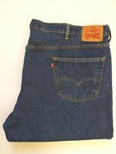LEVIS 550 JEANS MENS RELAXED FIT TAPERED LEG W52 L29 MID BLUE STRAUSS LEVQ699