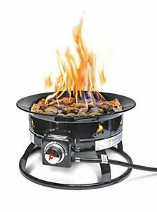 Outland Living Firebowl 893 Deluxe Outdoor Portable Propane Gas Fire Pit with Co