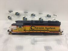 MTH #20-20543-1 O Scale Chessie #7422 SD-35 Diesel Engine Proto3  3 Rail  NEW