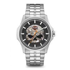 Reloj de pulsera automático de Harley Davidson 76A158 los hombres