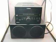 Yamaha MCR-B142 Black Micro Component System Speakers Bluetooth Wireless