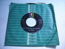 w SLEEVE The Trends Don't Drop Out of School / Check My Tears 1967 45rpm