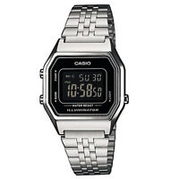 Unisex Casio retro digital bracelet watch LA680WEA-1BEF
