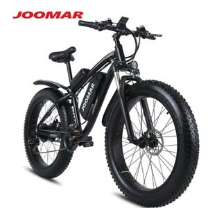 Electric Bike 1000W 48V Motor 4.0 Fat Tire Mountain Bike Beach Snow Bicycle