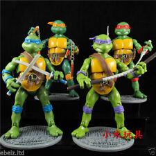 Teenage Mutant Ninja Turtles Classic Collection Action Figures 4 Pcs TMNT Toys