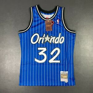 100% Authentic Shaquille O'Neal Mitchell Ness 94 95 Magic Jersey Size M 40 Men