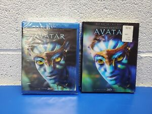 Avatar (Blu-ray/DVD, 2012, 2-Disc Set, Limited Edition 2D/3D) NEW w/slipcover