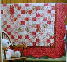 Cozy Quilt Designs Strip Club Pattern Finished Project Size is 54 x 54 Dresden Bloom