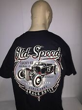Lucky 13 t-shirt 'Old Custom' black size XL hot rod 32 ford pinup kustom
