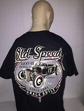 Lucky 13 t-shirt 'Old Custom' black size XXL hot rod 32 ford pinup kustom