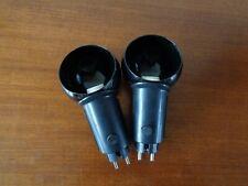 2 Pop art plug in lamp  Black postmodern design eighties 80s 80er Postmodernist