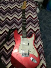 """""""Envy on the Coast"""" band signed guitar"""