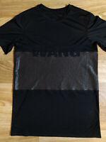 Alexander Wang H&M Womens T-Shirt Dress Jersey TOP Black Hype Tee Oversized