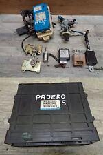 Mitsubishi Pajero v60 3,2 Moteur taxe périphérique mk387382 (5) dispositif d'immobilisation