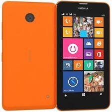 "Nokia Lumia 635 4G 4.5"" Display 8GB 5MP Windows SIM Free Smartphone In Orange"