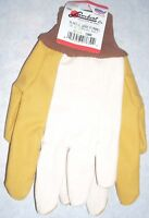 12pr Yellow Chore Gloves Dozen Work Gloves Large New
