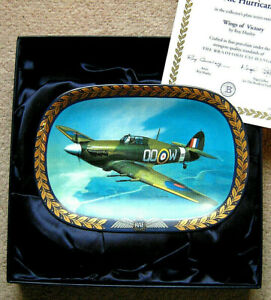"DAVENPORT STYLE BRADFORD EXCHANGE ""THE HURRICANE"" PLATE  (BOXED+CERT)"