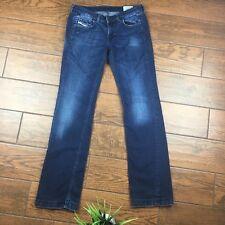 Diesel Doozy WOMENS Blue Jeans 28x34