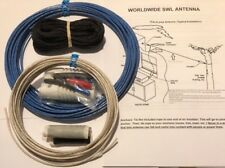 Shortwave, Swl, Am, Oc, Basic Longwire antenna Kit. 100 Feet & Usa Seller