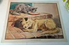 Vintage Eileen Soper School Print/Poster-Enid Blyton 'The Dog Who Wanted a Home'