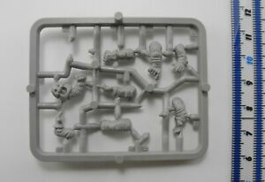 8 SQUAT ARMS Plastic Rogue Trader Squats Army Sprue Parts Warhammer 40K 1980s 20
