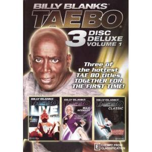 Billy Blanks: Tae Bo 3 Disc Deluxe Volume 1 NEW DVD (Region 4 Australia)