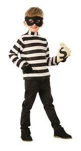 Rubies Costume Child Burglar Halloween Costume Boys Size Medium (8-10) - 1238
