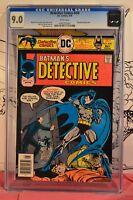 Detective Comics #459 CGC 9.0 1976 Batman 1 of 20 graded