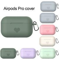 For Airpods 3 Airpod Pro Air Pods Charging Cover Skin Silicone Q7T8 Soft S9Q3