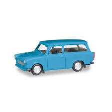 Herpa 020770-005 Trabant 601 Universal Azul Claro Escala 1:87 / H0 Nuevo !°