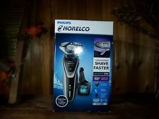 PHILLIPS NORELCO MENS TURBO POWERED ELECTRIC SHAVER 5700 MULTI PRECISION BLADES