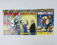 DC Comics: Worlds's Finest #1-3 1990 Special 3 Book Set, Superman & Batman