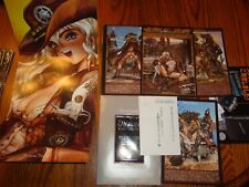 Sexxxy~Shirow Masamune 1st Series Poster Book Galgrease 001 Wild Wet West ~Milky