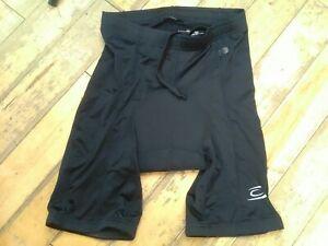 "Men's size medium waist 32/34""  inner padded black lycra cycling shorts"