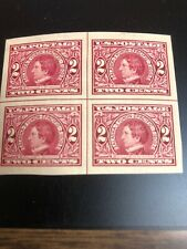 371 .02 Alaska Yukon Superb Jumbo Centerline Block Of 4 Top 2 Stamps Hinged
