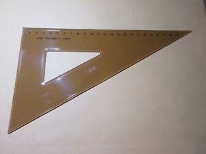 Linex 625 (065400) College Set Square 60 degree 23.5 cm scale contents sellout