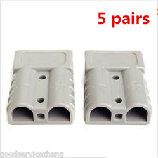 10X 50A 6AWG Plug Connect Battery Quick Connector Kit Disconnect Winch Car Truck