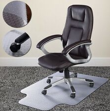 Carpet Saver Mat Office Chair Computer Studded Back Transparent Floor Protector