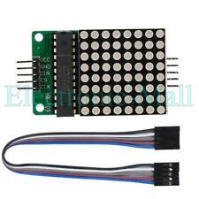 Max7219 Dot Matrix 8x8 88 Red Led Display Module Arduino Mcu Diy Raspberry Pi