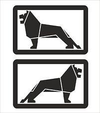MAN truck lion Graphic/Sticker 395mm x 255mm