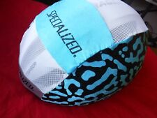 Specialized Lycra Helmet Cover, Color Blue, New Old Stock.
