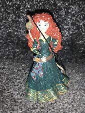 Disney PArks Merida Glitter Brave Figure Figurine Rare Ornament Traditions