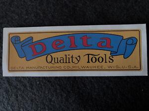 Delta Milwaukee Rockwell Emblem Tool Decals
